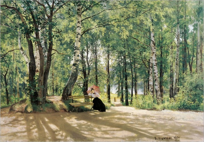 In the Country - Ivan Shishkin-1894