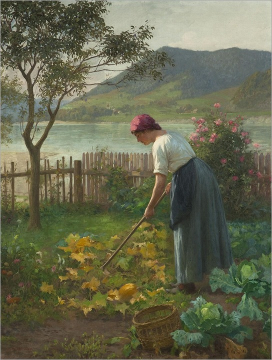 in-the-garden-by-the-river-Schuster_Karl_Maria(1871 - 1953)