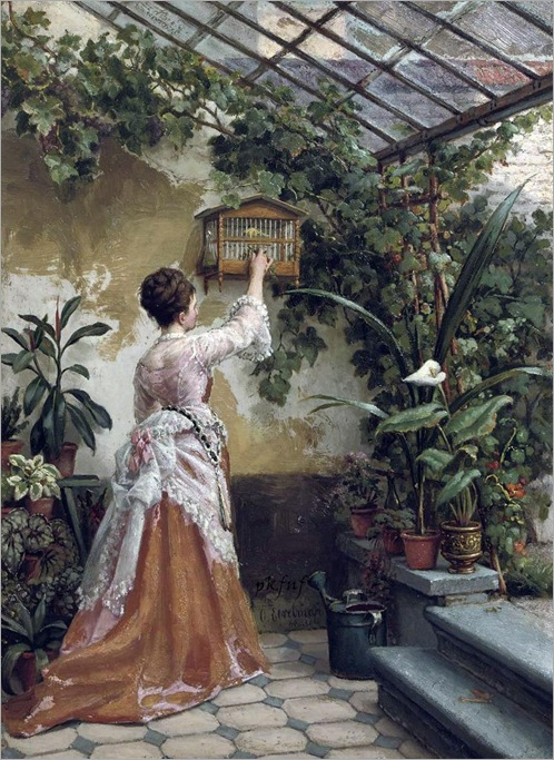 in the greenhouse by Otto Eerelman