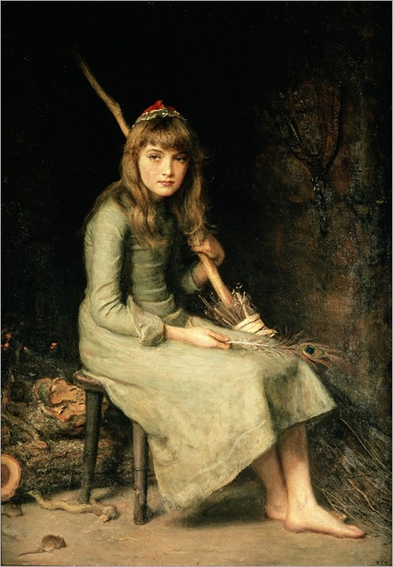John Everett Millais (1829-1896)-Cinderella