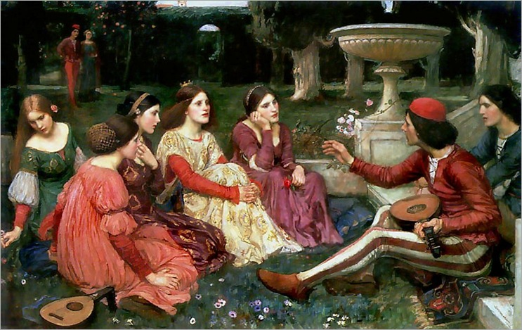 john_william_waterhouse_a_tale_from_the_decameron_2