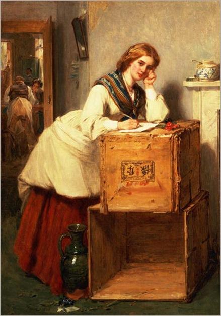 LadyWritingaLetter-ThomasFaed