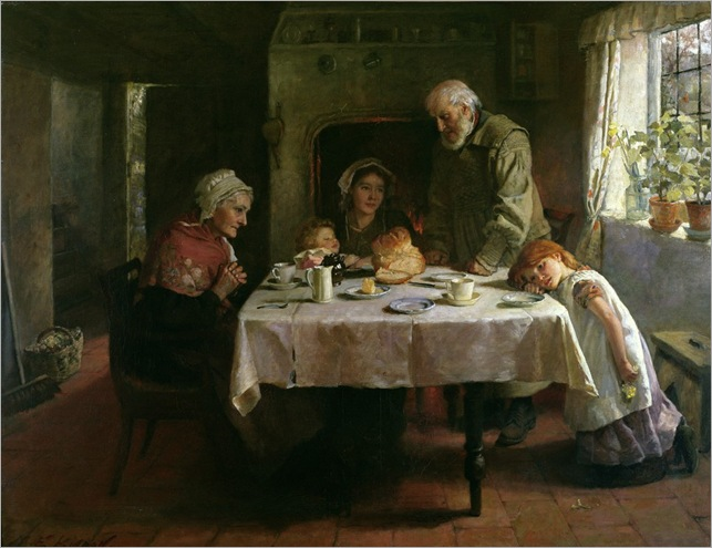 Mary-Evelina-Kindon-grace-before-supper