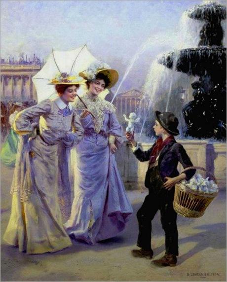 Parisian Street Urchin-Basile Lemeunier