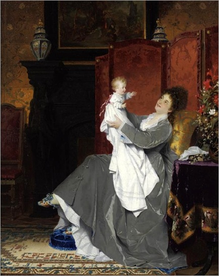 Playing With Baby-Conrad Kiesel