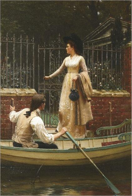 the-elopement-Edmund-Blair-Leighton