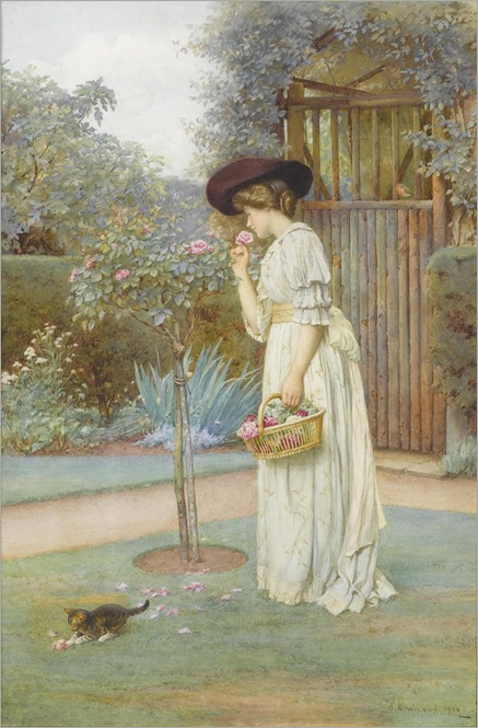 The Rose Garden - Charles Edward Wilson