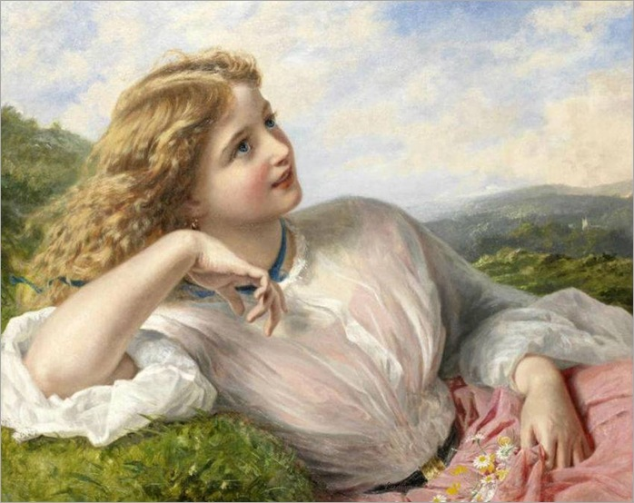 The song of the lark -Sophie Anderson