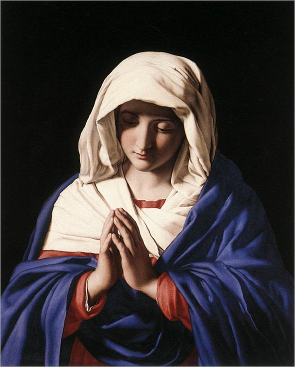 The Virgin in Prayer - Sassoferrato
