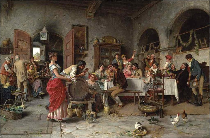 The Wedding Party-Arturo Ricci