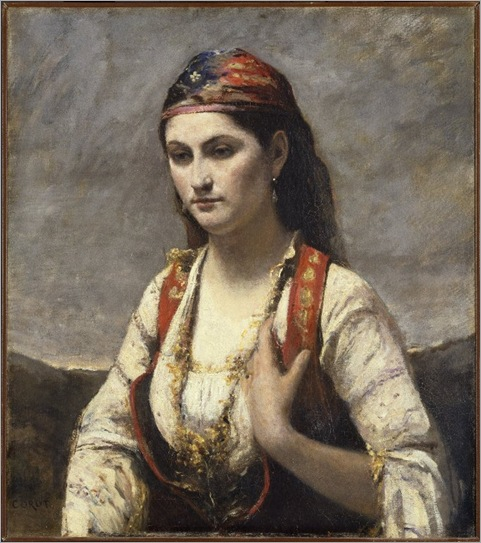 The_Young_Woman_of_Albano_(L'Albanaise)_-_Jean-Baptiste-Camille_Corot