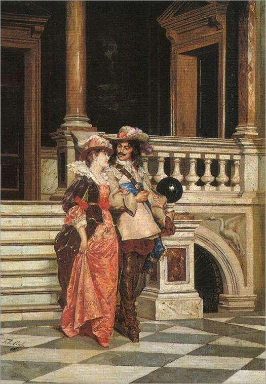 TITO CONTI (italian, 1842-1924)_flirtation_553x800