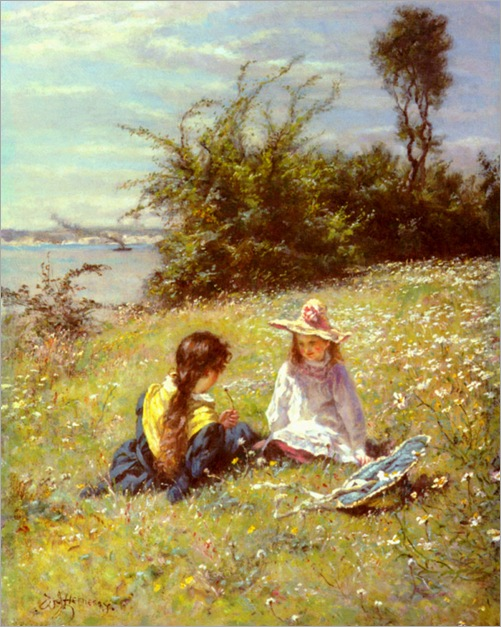 William_John_Hennessy_-_The_Dandelion_Clock