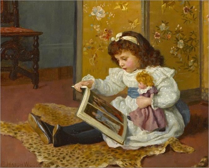 35,charles haigh-wood (english-1854-1927)-storytime