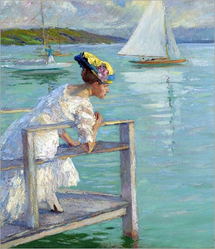 4 Edward Cucuel, On the Dock