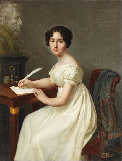 Alix de Montmorency, Duchesse de Talleyrand_Henri François Riesener (French, 1767-1828)