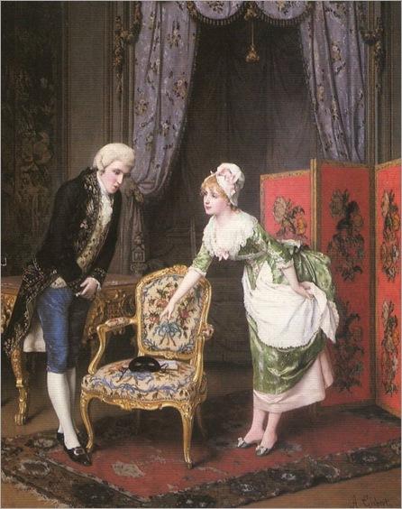 Antonio Gisbert (spanish, 1835-1901)_figures in an interior_768x972