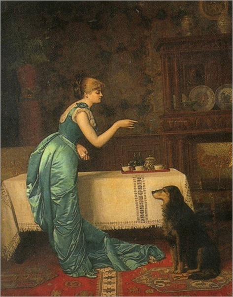 Auguste-Hector Cabuzel (french, b.1836_training for tea-1883_768x981