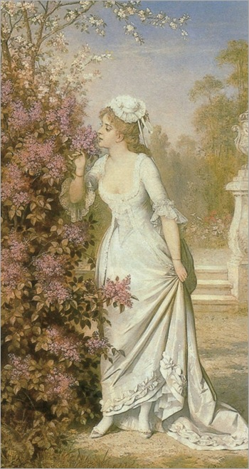 Carl Schweninger Snr. (austrian, 1818-1887)_first summer bloom_540x1024
