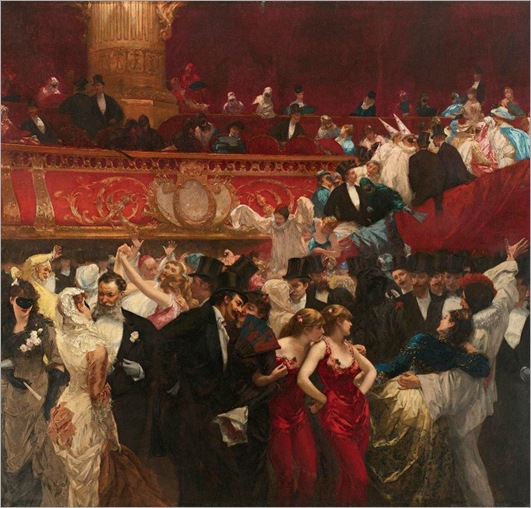 Charles Hermans (1839-1924) Bal masque