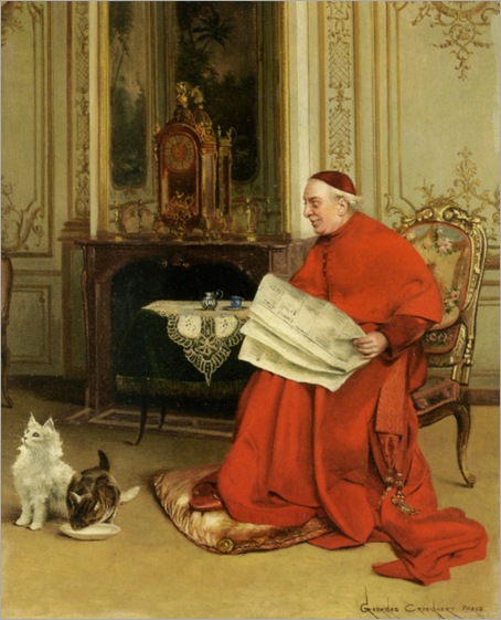 Croegaert_Georges_Reading_the_News
