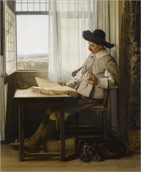 Eduard Charlemont - Erudit Et Son Chien