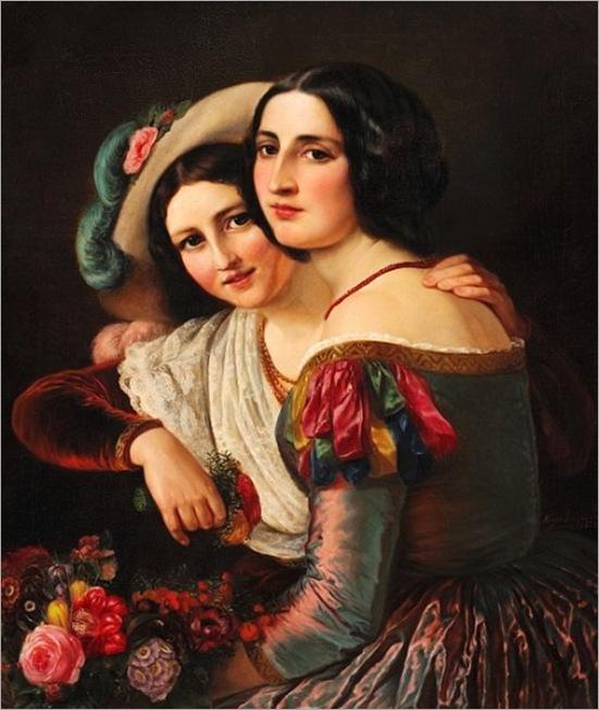 Elisabeth Jerichau Baumann , 21 de novembro de 1819, Varsóvia - 11 de julho de 1881, Copenhagen