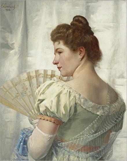 ERNEST EMILE LEMENOREL (1880 - 1920) - PAMELA, 1909