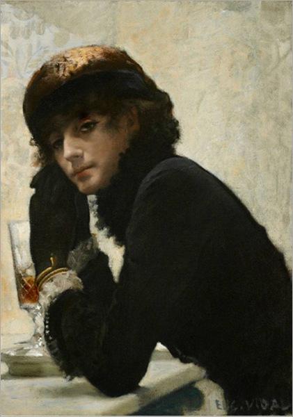 Eugene Vincent Vidal (francês, 1850-1908)