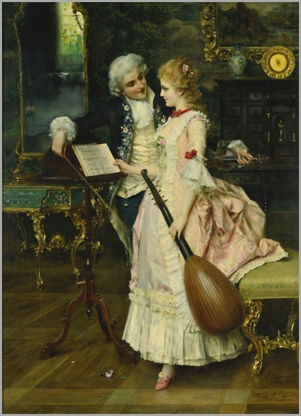 Federico Andreotti (italian, 1847-1930) - an interlude