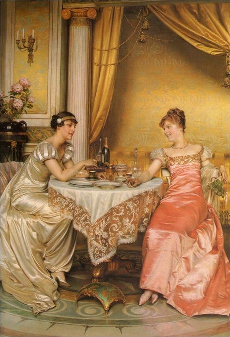 Frederic Soulacroix (french-b.1825)_Tete à tete_698x1024