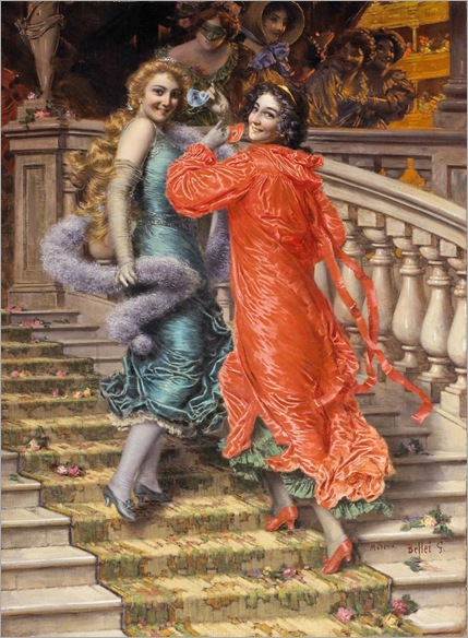 Gaetano Bellei (italian, 1857-1922)_in the theatre