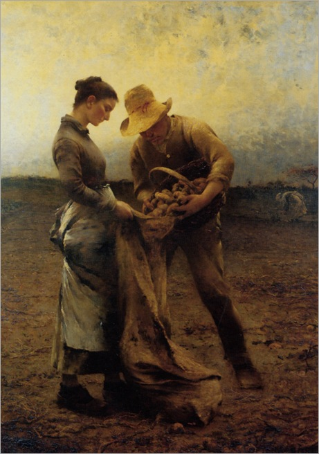 Hagborg_August_Wilhelm_Nikolaus_The_Potato_Gatherers