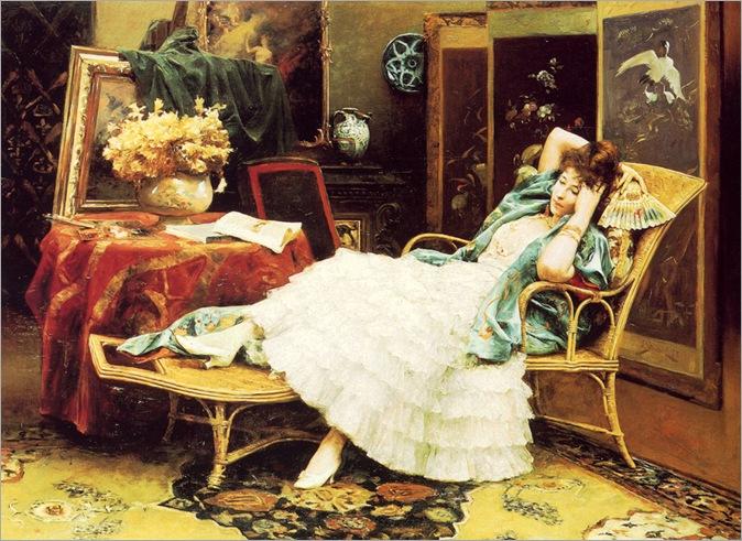 Julius LeBlanc Stewart repose 1888