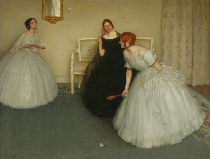 Lonard Campbell Taylor_battledore, 1906