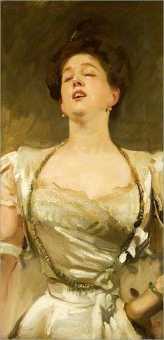 Mrs. George Batten singing, 1895-JOHN_SINGER_SARGENT