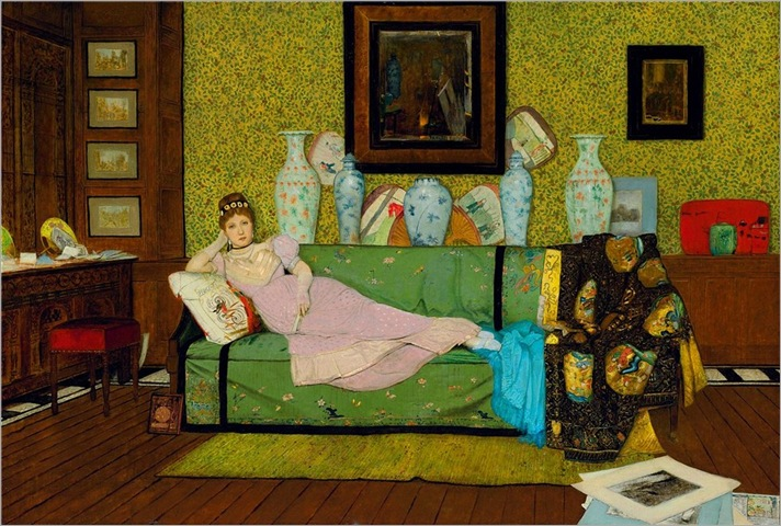 paintings-in-the-artist´s-house-John-Atkinson-Grimshaw