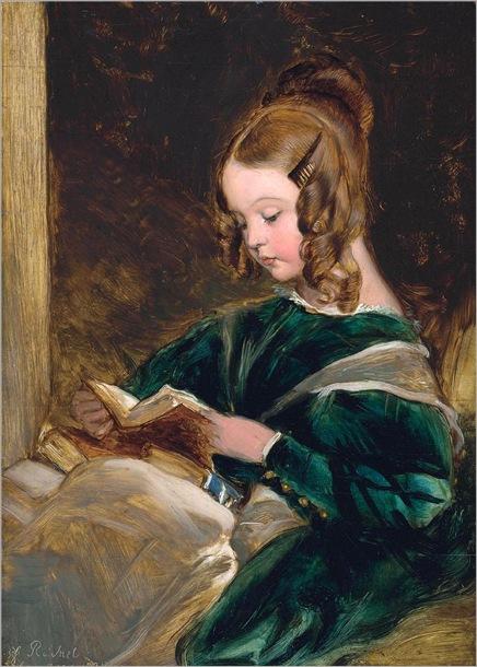 Rachel Russell (1826-1898) por Sir Edwin Henry Landseer