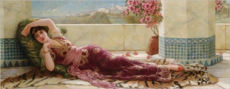semenowsky(1857-1911)odalisque