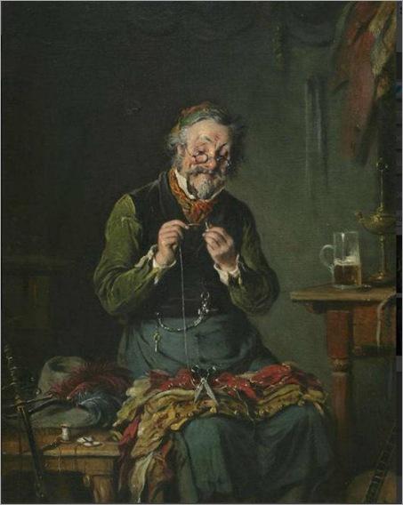 tailor at work-Hermann Kern