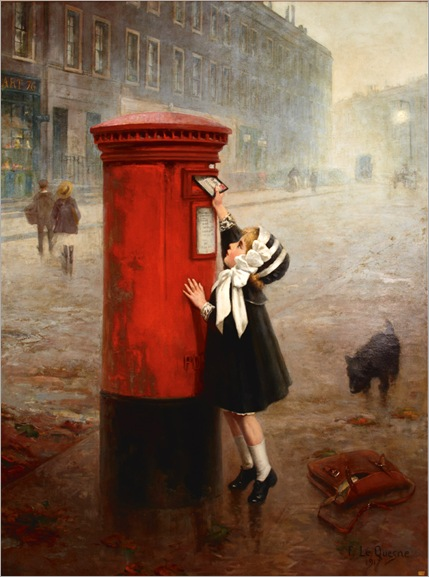 The Pillar Box, A Letter to Daddy-Fernand Le Quesne