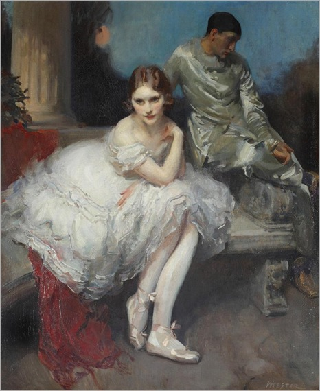 The Play Is Ended - Walter Ernest Webster (english)