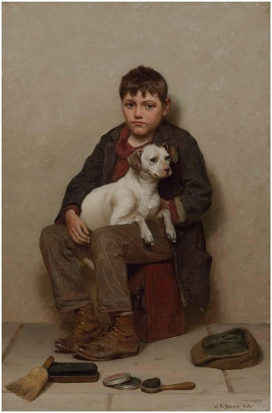 True Friends-John George Brown
