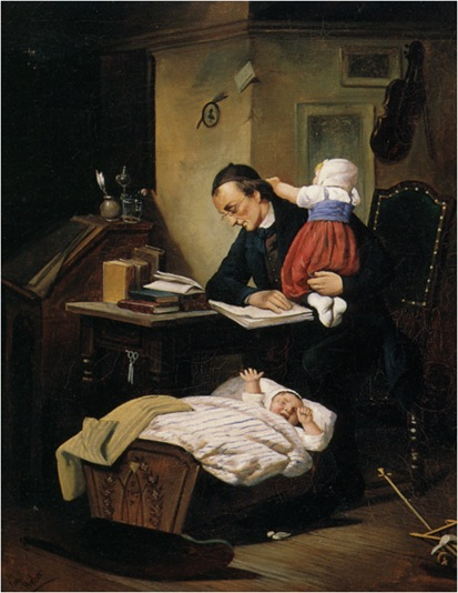 Weber_Theodore_The_Busy_Father