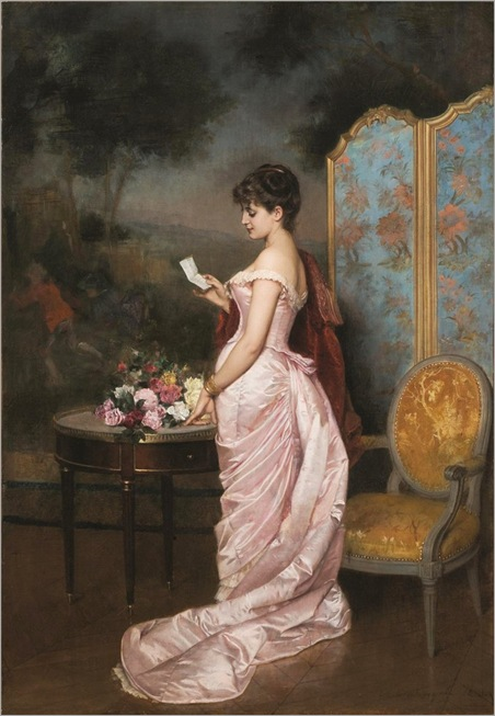 012-the love letter-auguste-toulmouche