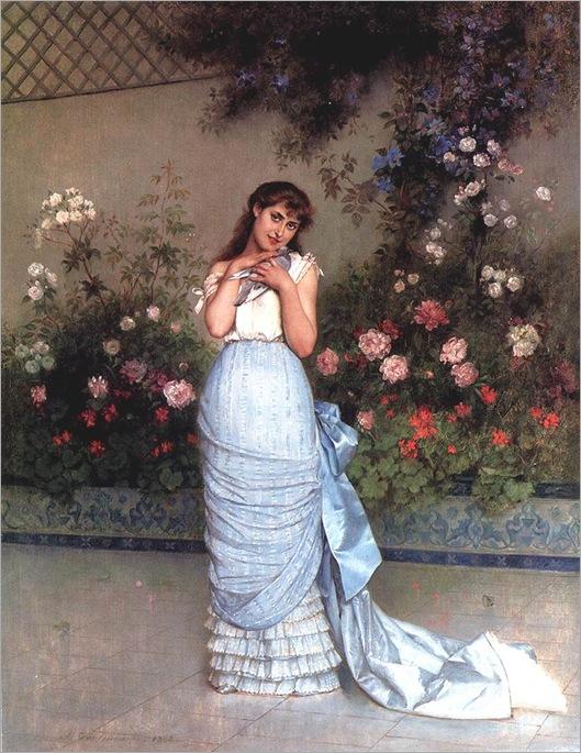 an elegant beauty - A. Toulmouche