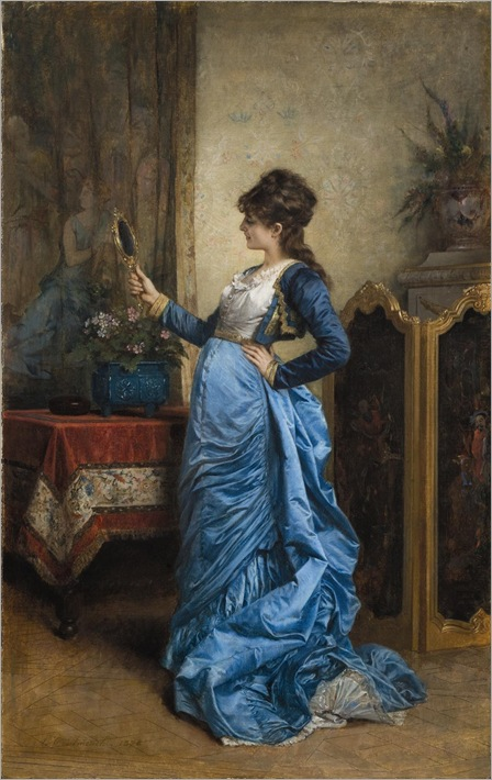 Auguste Toulmouche_reflections_on_beauty