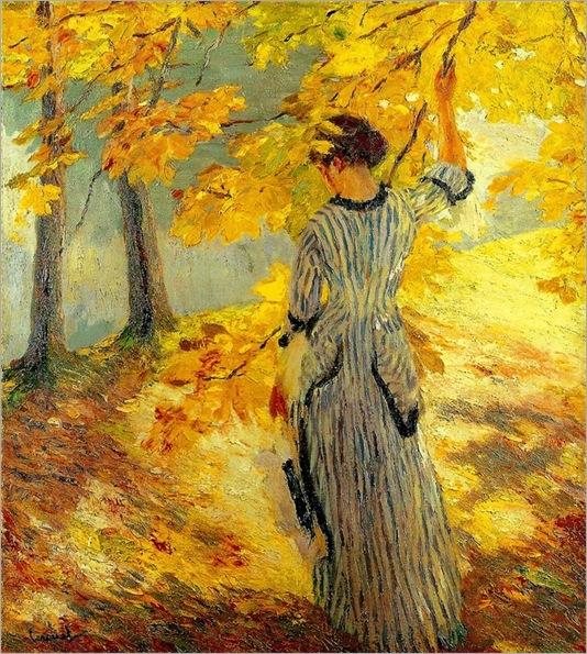Autumn Sun -  Edward Cucuel