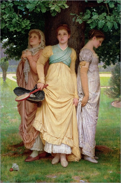 Charles-Edward-Perugini-a-summer-shower