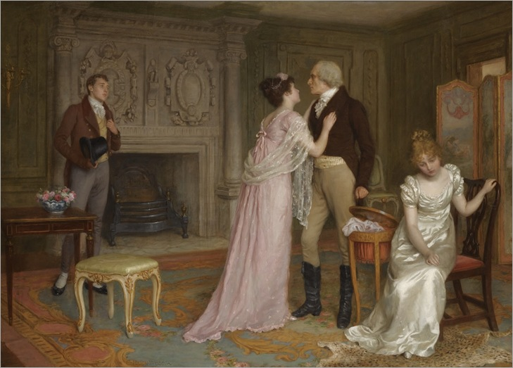 Charles Haigh Wood (english, 1854-1927)- Love Will Triumph